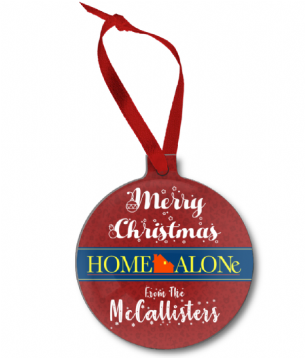 Home Alone Merry Christmas from the McCallisters Christmas Tree Ornament